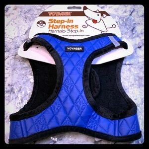 Voyager Step-in Dog Harness in Royal Blue